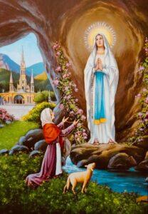 Lourdes Parish Pilgrimage at Home